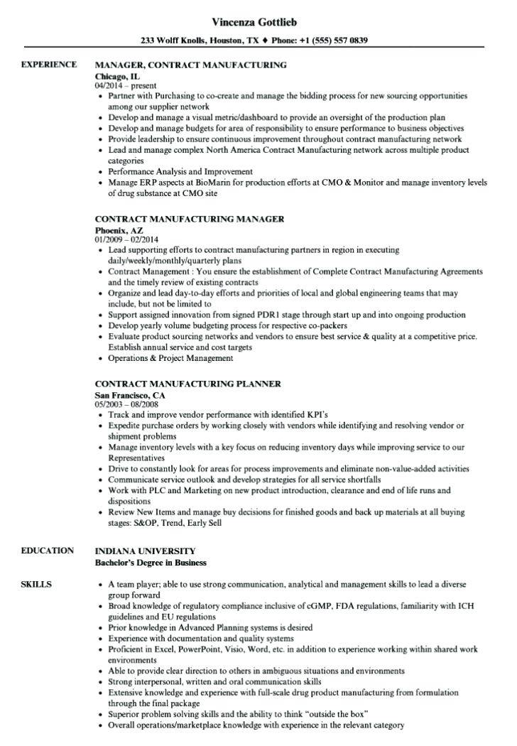 Manufacturing Agreement Template India
