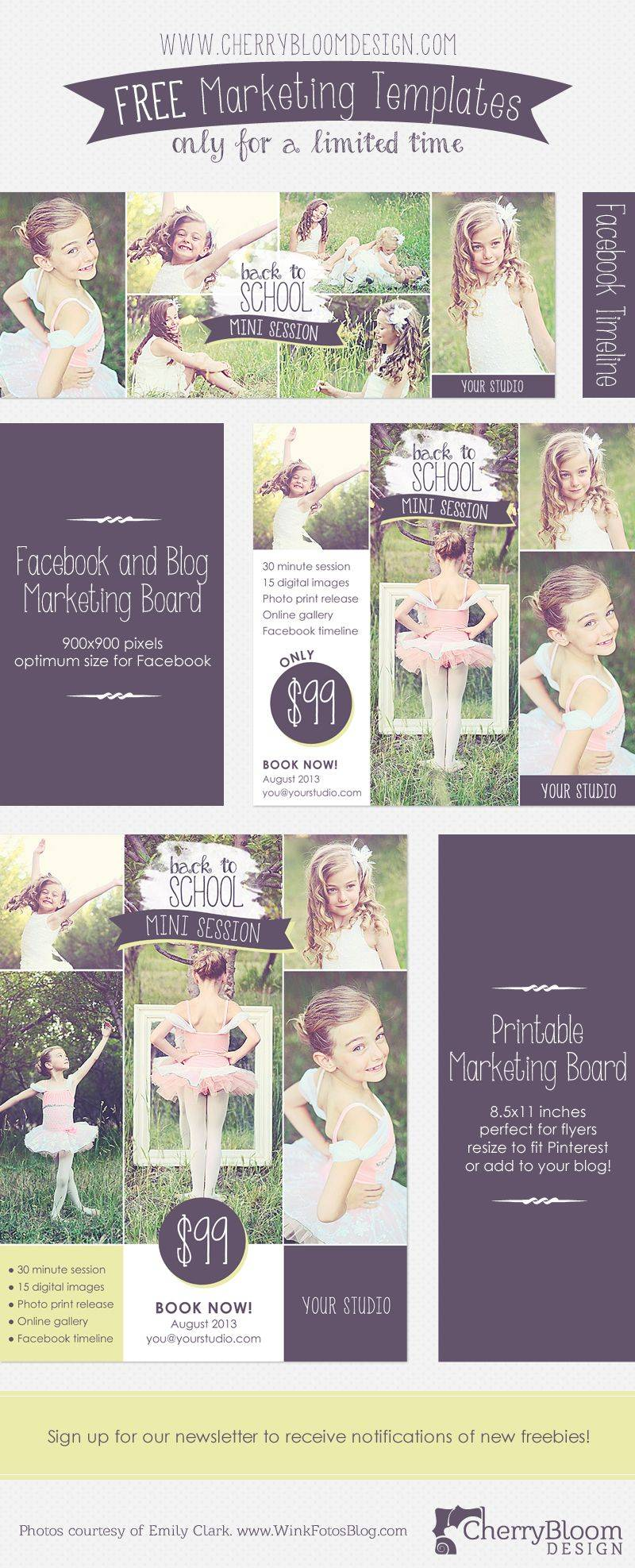 Marketing Templates For Photographers