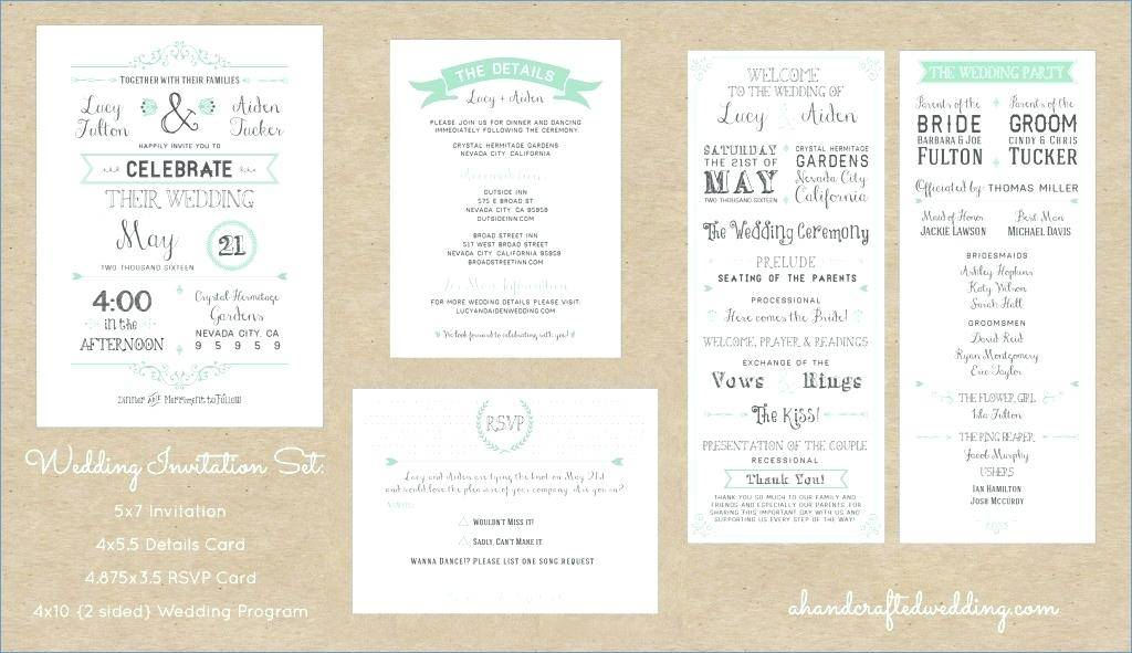 Marriage Invitation Template With Photo