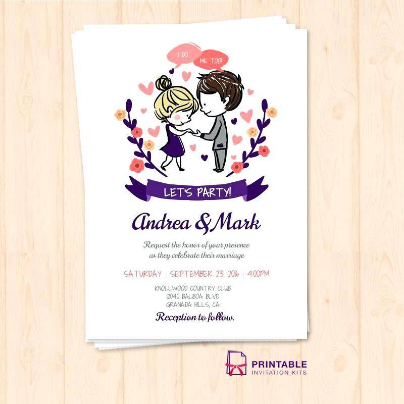 Marriage Invitation Templates India