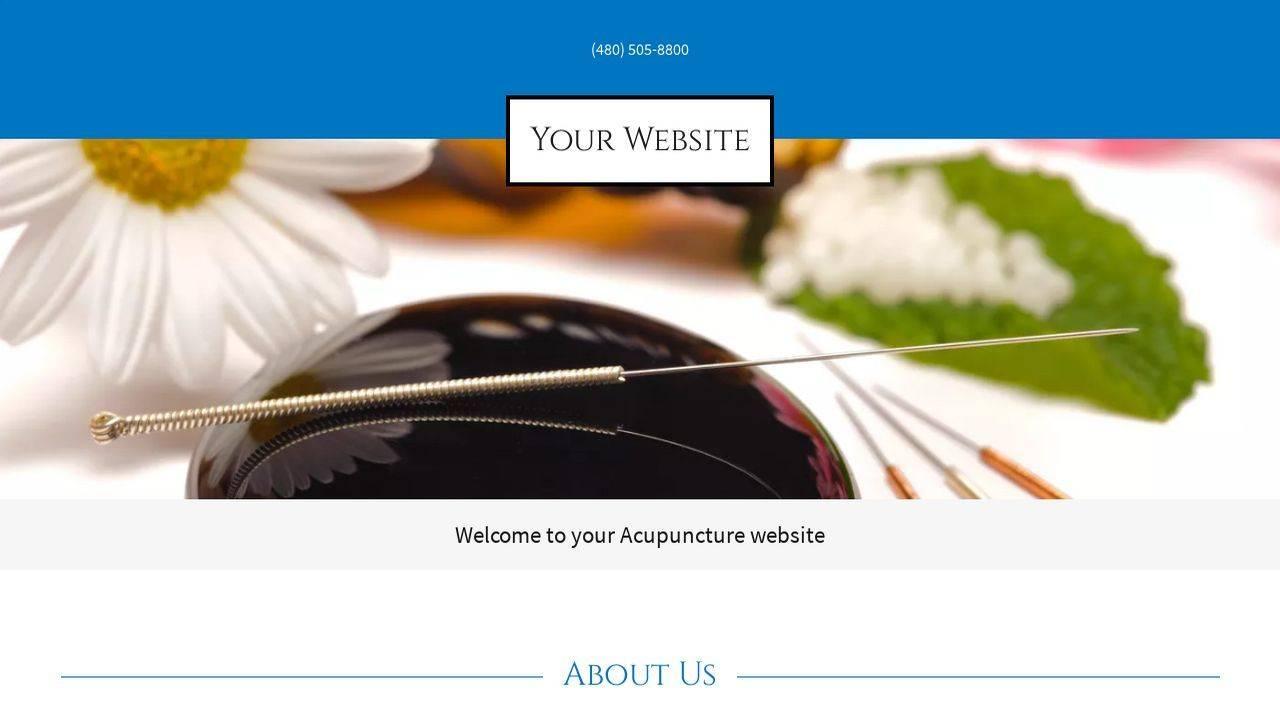 Massage Therapy Web Templates