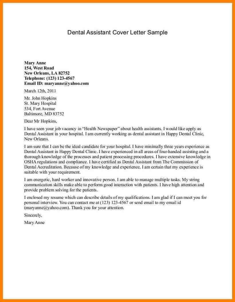 Medical Assistant Resume Cover Letter Template