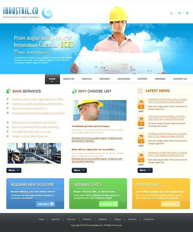 Microsoft Expression Web 4 Responsive Template