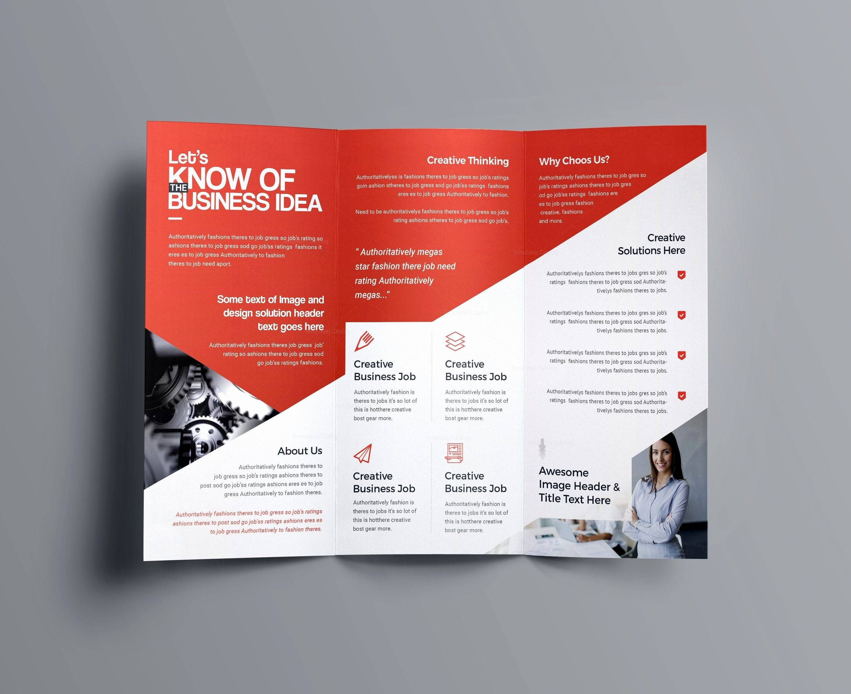 Microsoft Publisher Real Estate Brochure Templates