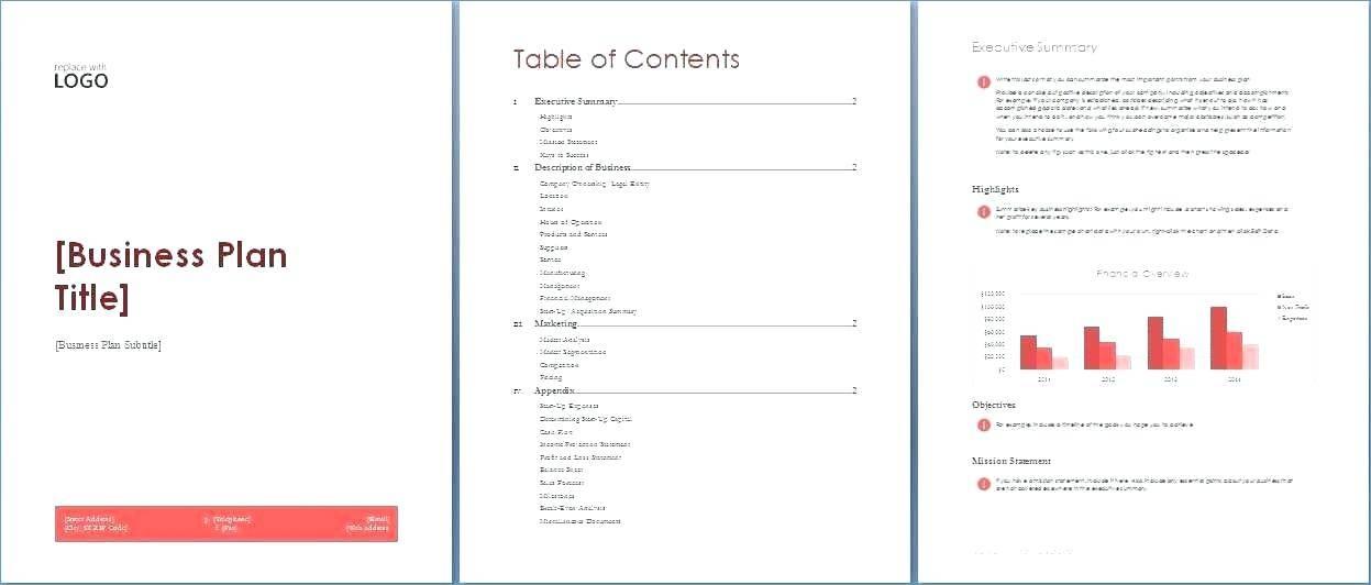 Microsoft Word 2010 Proposal Templates