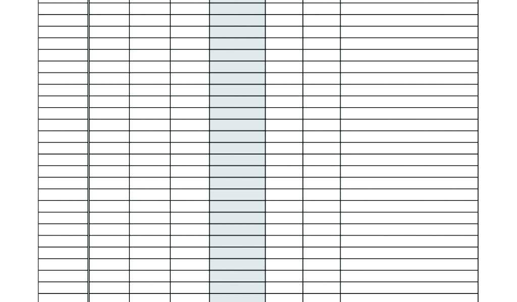 Mileage Tracker Template For Taxes