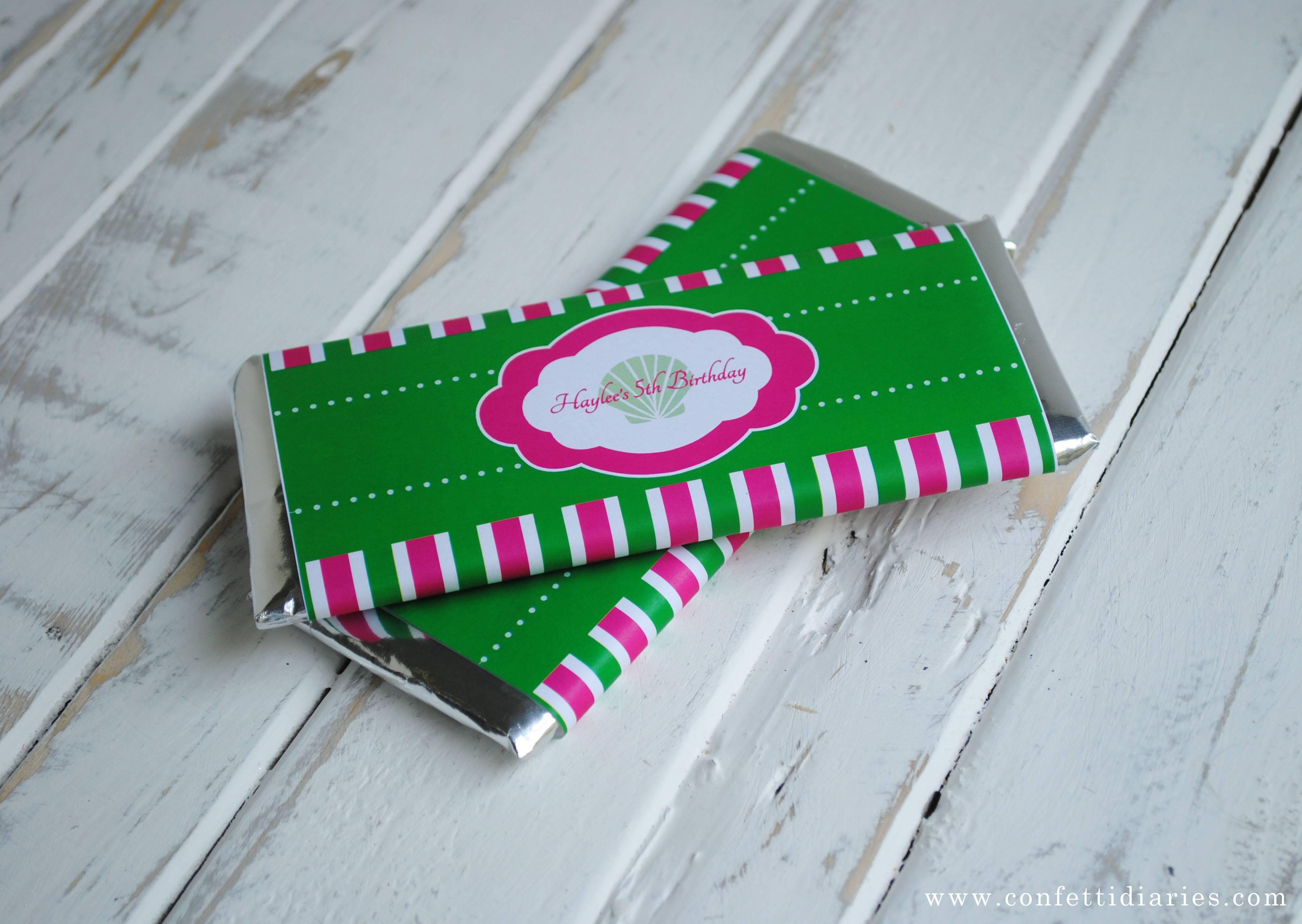Mini Candy Bar Wrapper Template Graduation