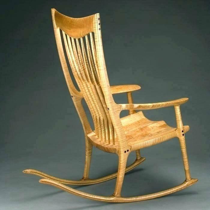 Miniature Rocking Chair Template