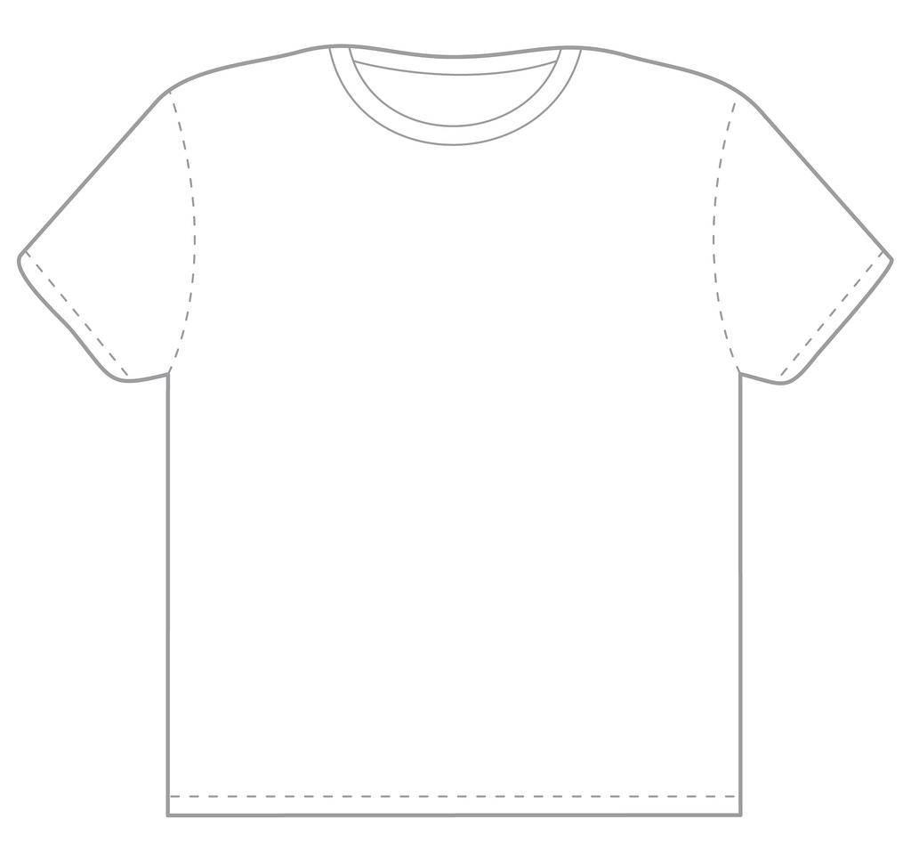 Mock T Shirt Template
