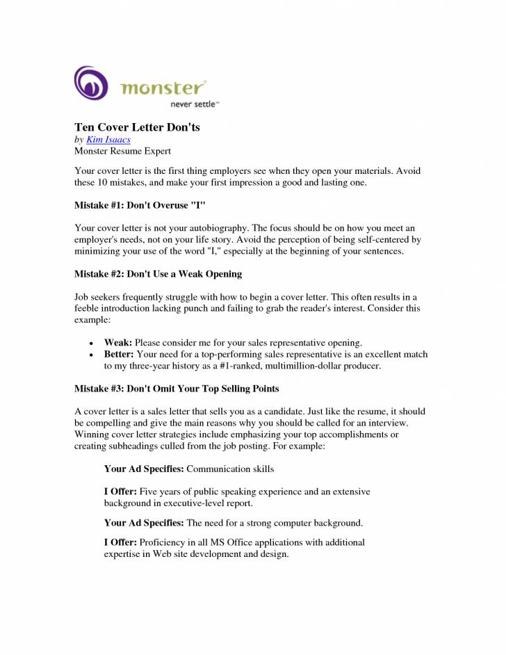 Monster.ca Resume Templates
