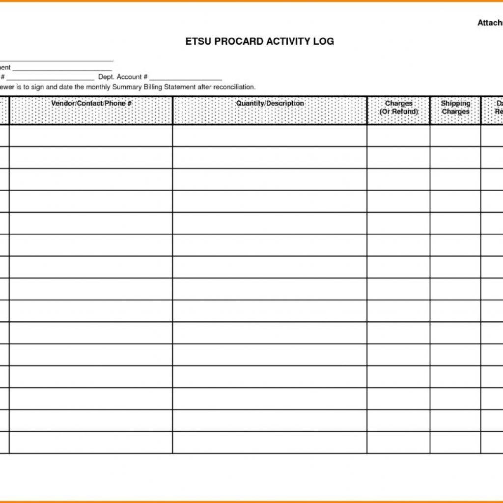 Monthly Bill Spreadsheet Template Free