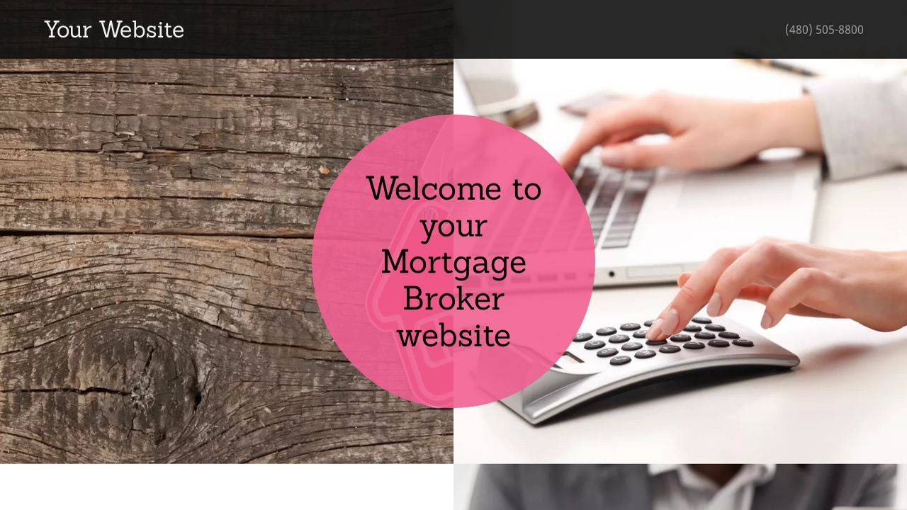 Mortgage Broker Website Template