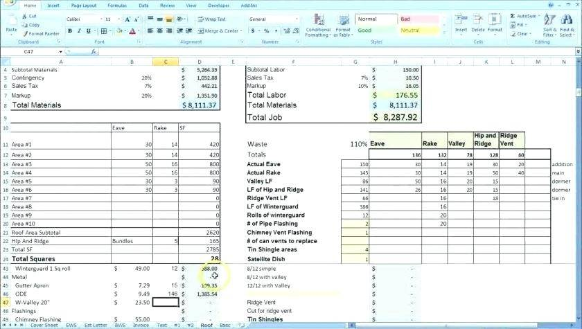 Mortgage Comparison Spreadsheet Template