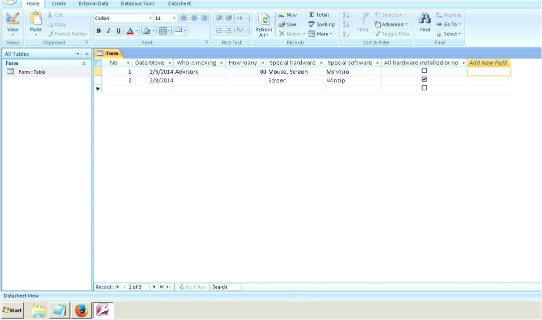 Ms Access 2007 Free Templates