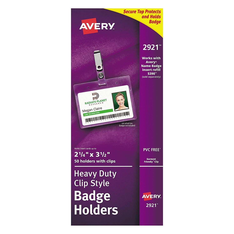 Name Badge Template Avery 74461