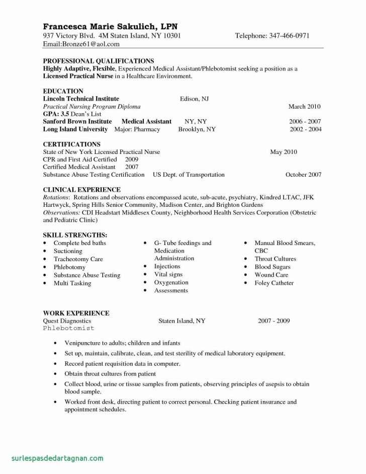 New Graduate Nurse Practitioner Resume Template Templates
