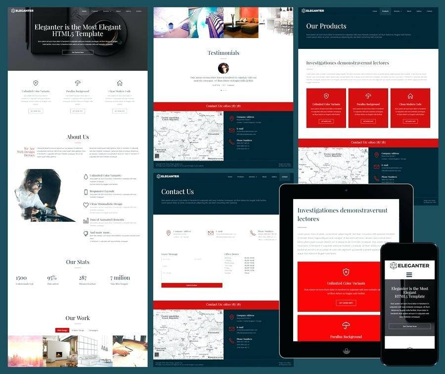 Ngo Website Template Responsive Free Download