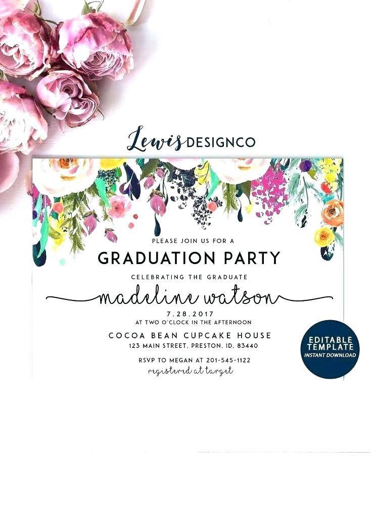Nursing Graduation Invite Templates