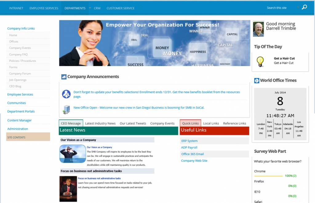 Office 365 Sharepoint Online Templates