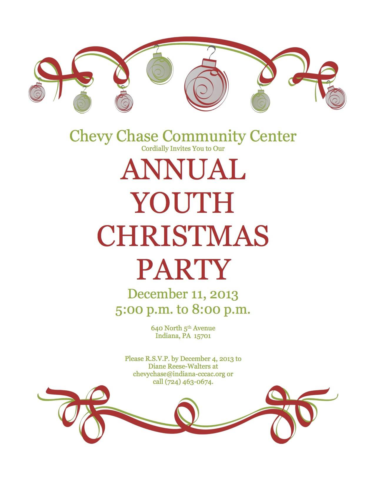 Office Christmas Party Invitation Templates Free