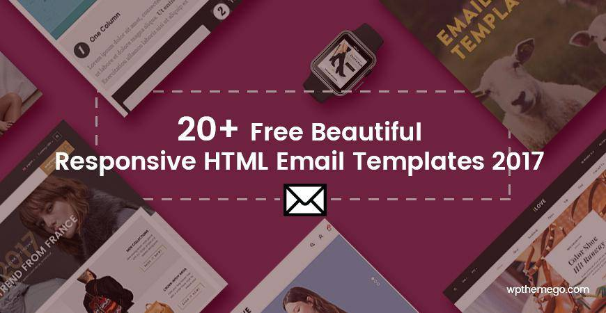 One Column Email Template