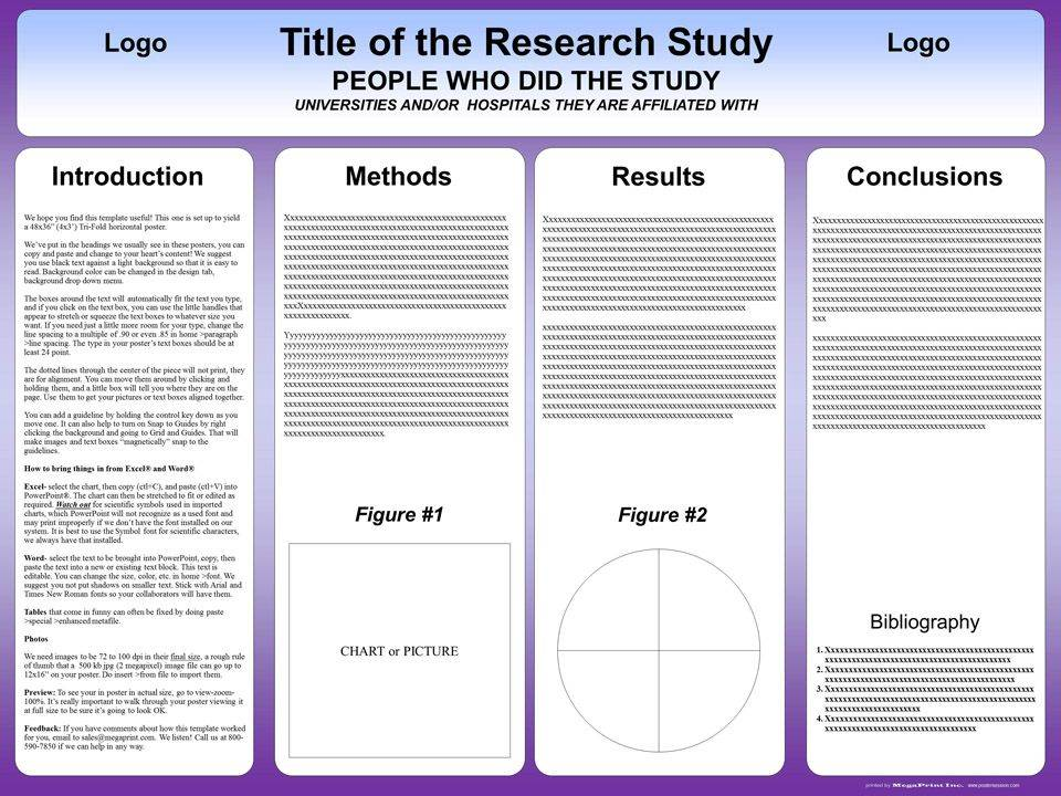 Online Scientific Poster Templates