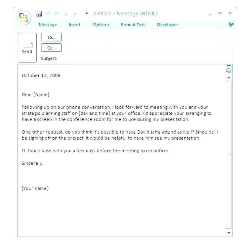 Outlook 2007 Newsletter Template