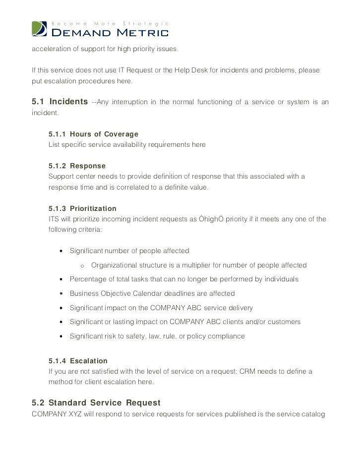 Outsourcing Contract Format