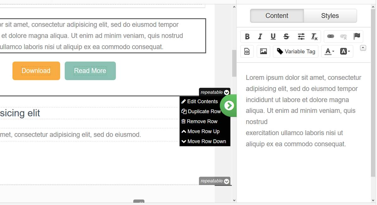 Pardot Email Template Editor