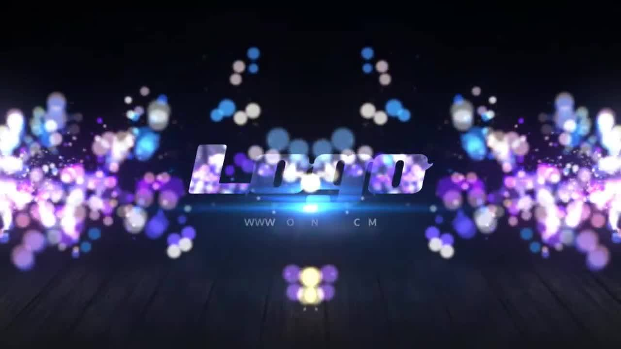 Particles Logo Effects After Effects Template