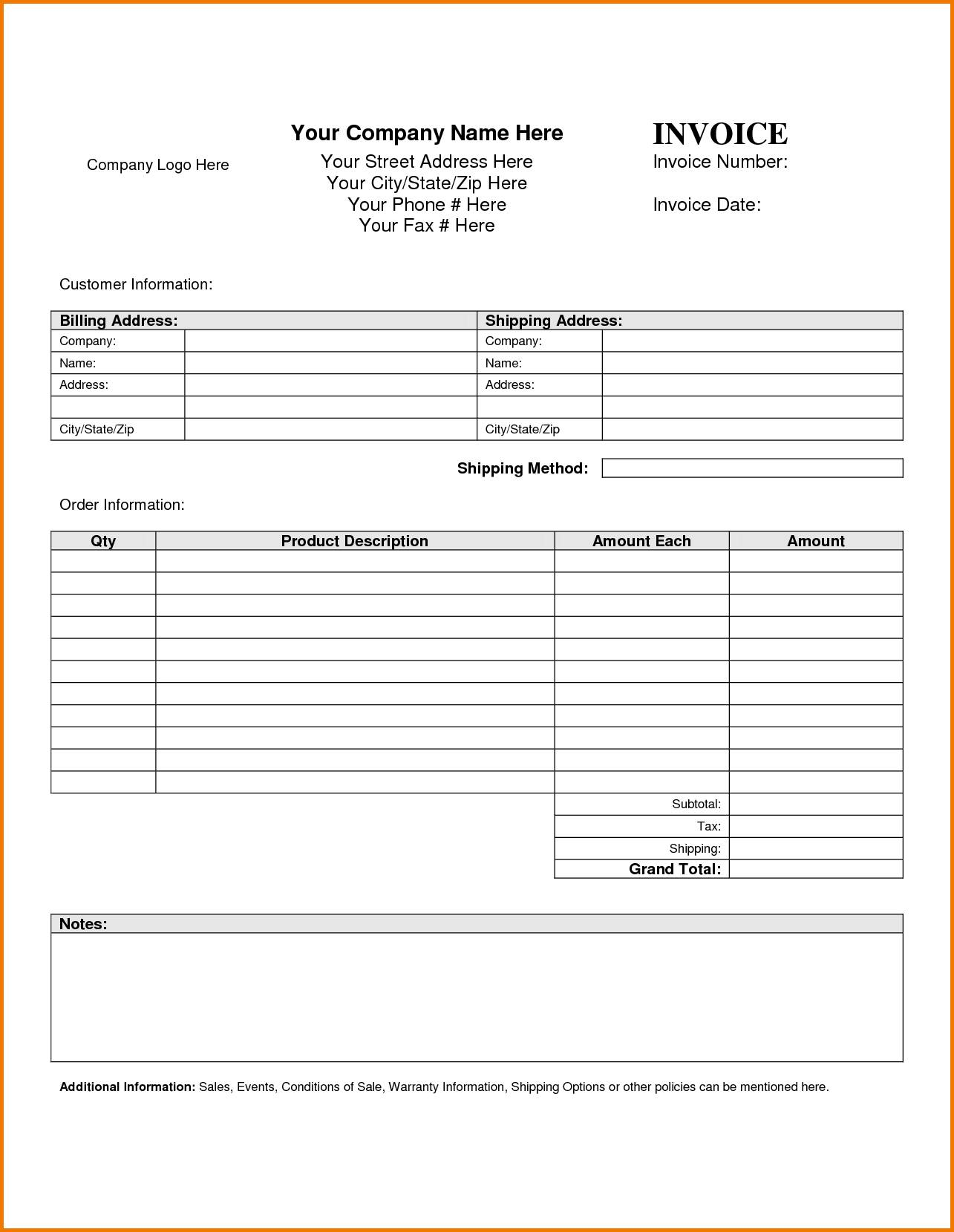 Personal Accounting Ledger Template