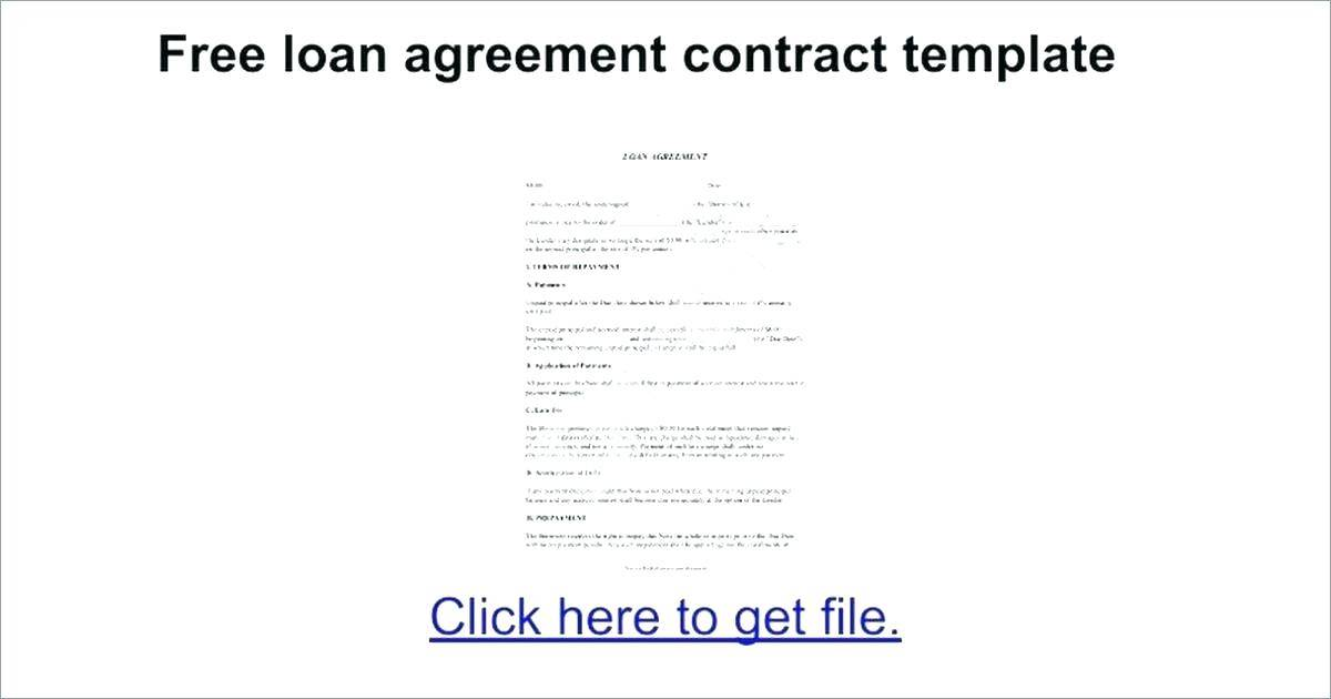 Personal Loan Application Form Template Free