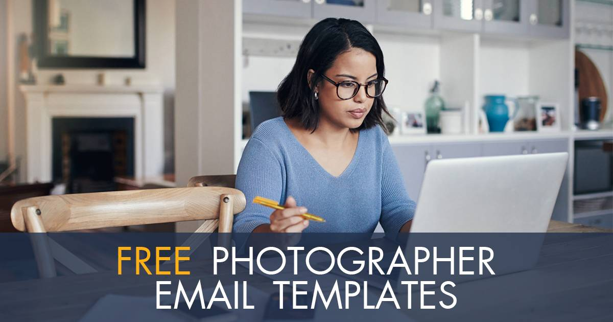Photographer Email Templates Free