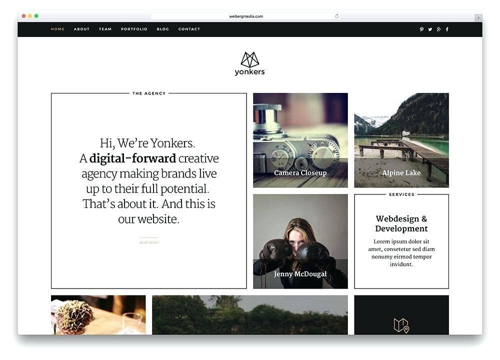 Photography Portfolio Website Templates Free Download