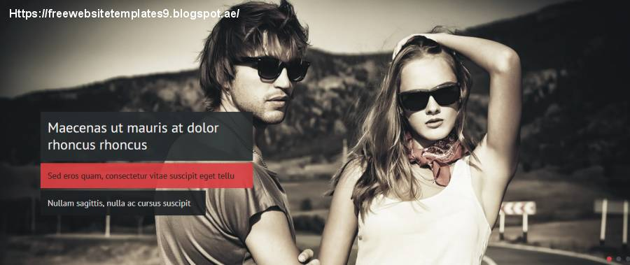 Photography Website Templates Html5 Free Download