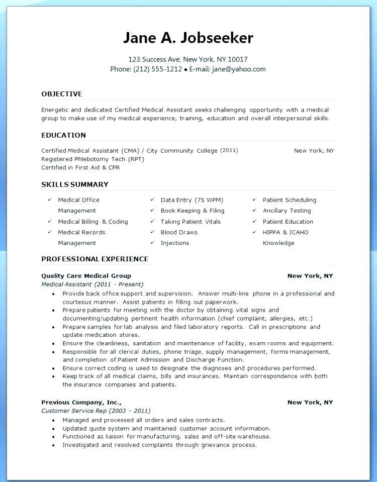 Physician Assistant Resume Templates - Templates #120424 | Resume ...