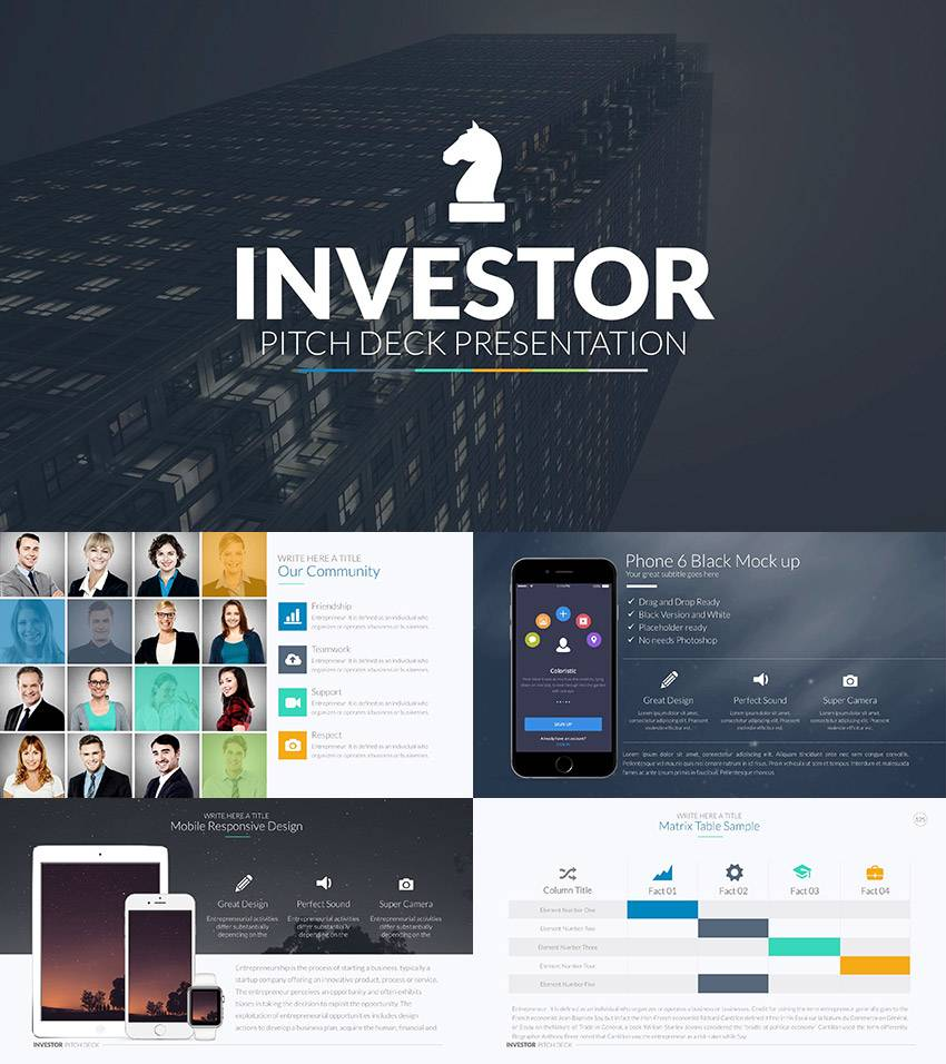 Pitch Template Powerpoint