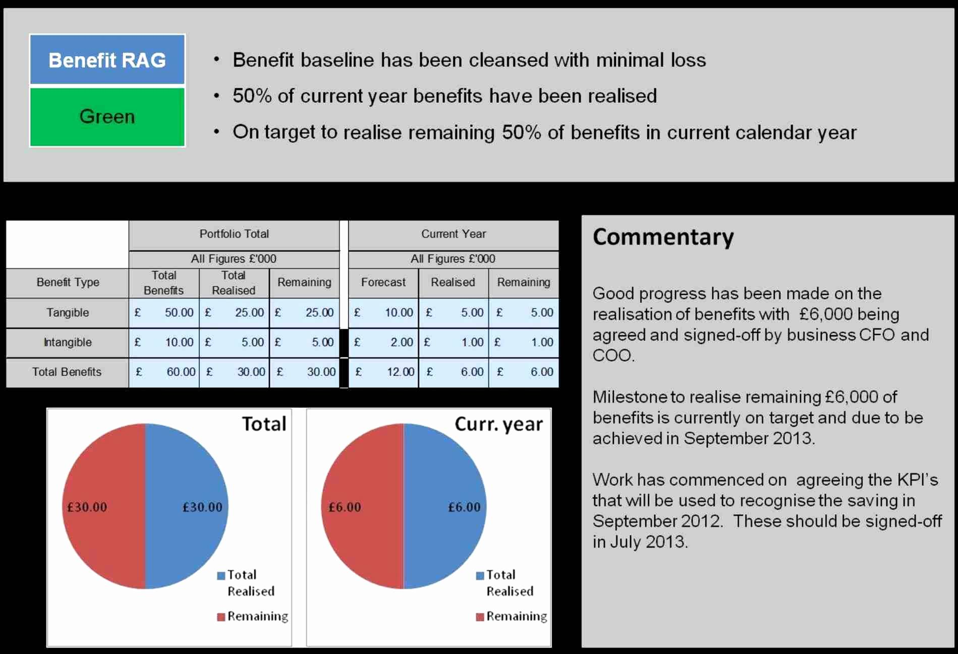 Pmo Dashboard Examples