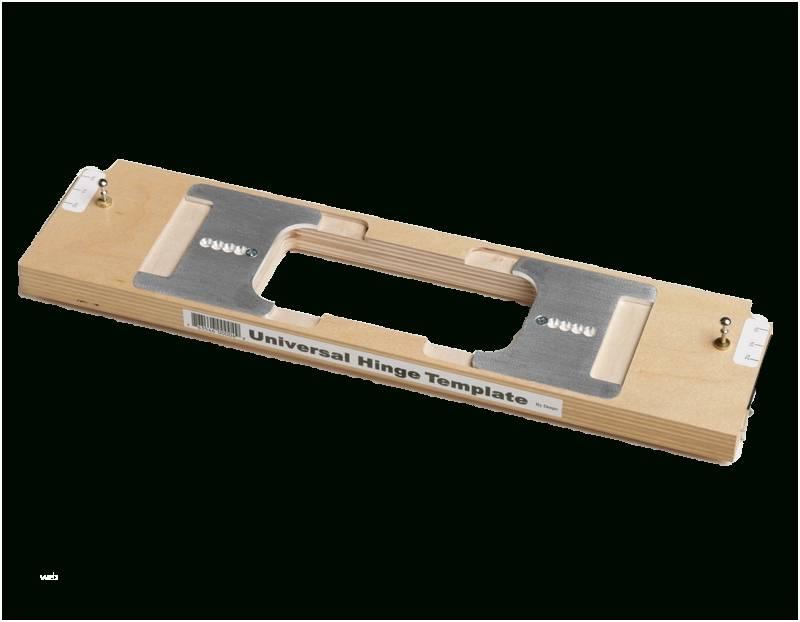 Porter Cable 59370 Door Hinge Template Instructions