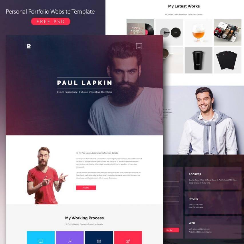 Portfolio Websites Templates