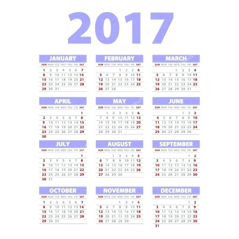 Poster Calendar Design Templates