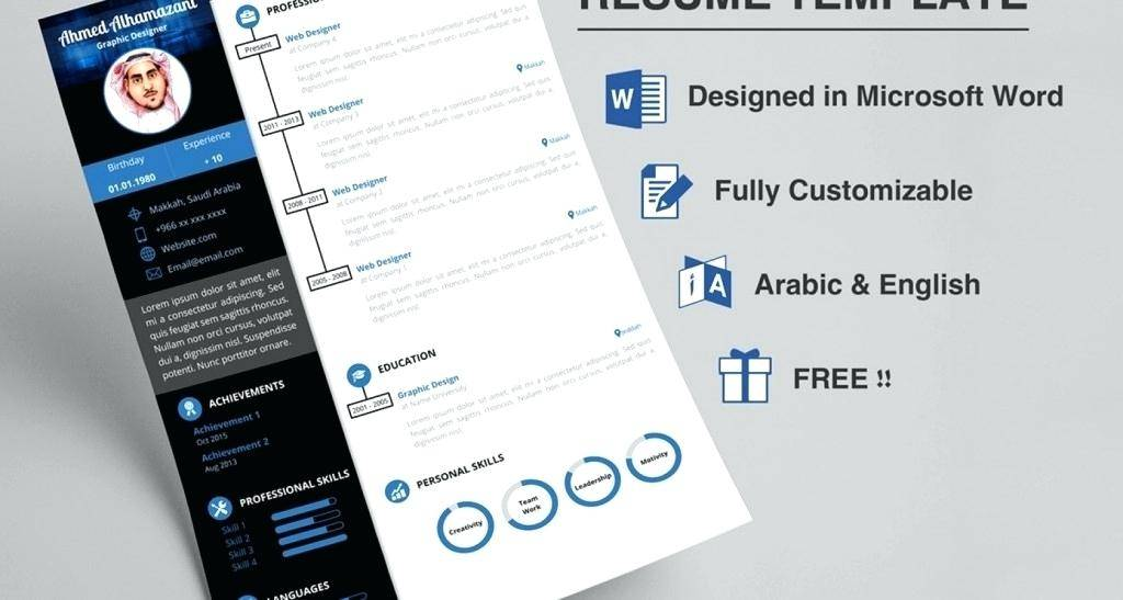 Visual Resume Powerpoint Templates Free Templates 145904