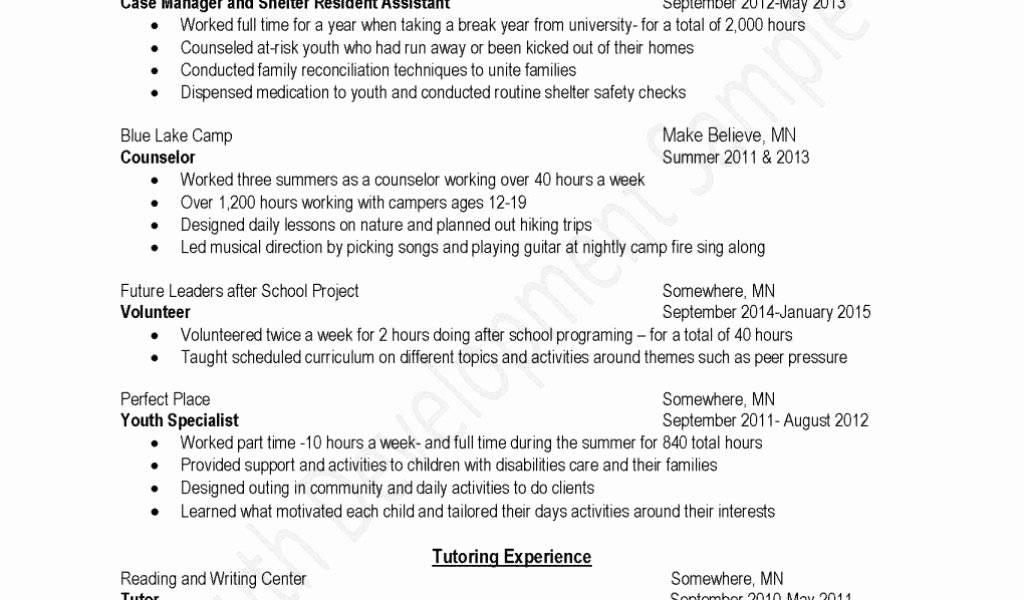 Preschool Staff Schedule Template