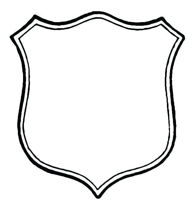 Printable Sheriff Badge Template