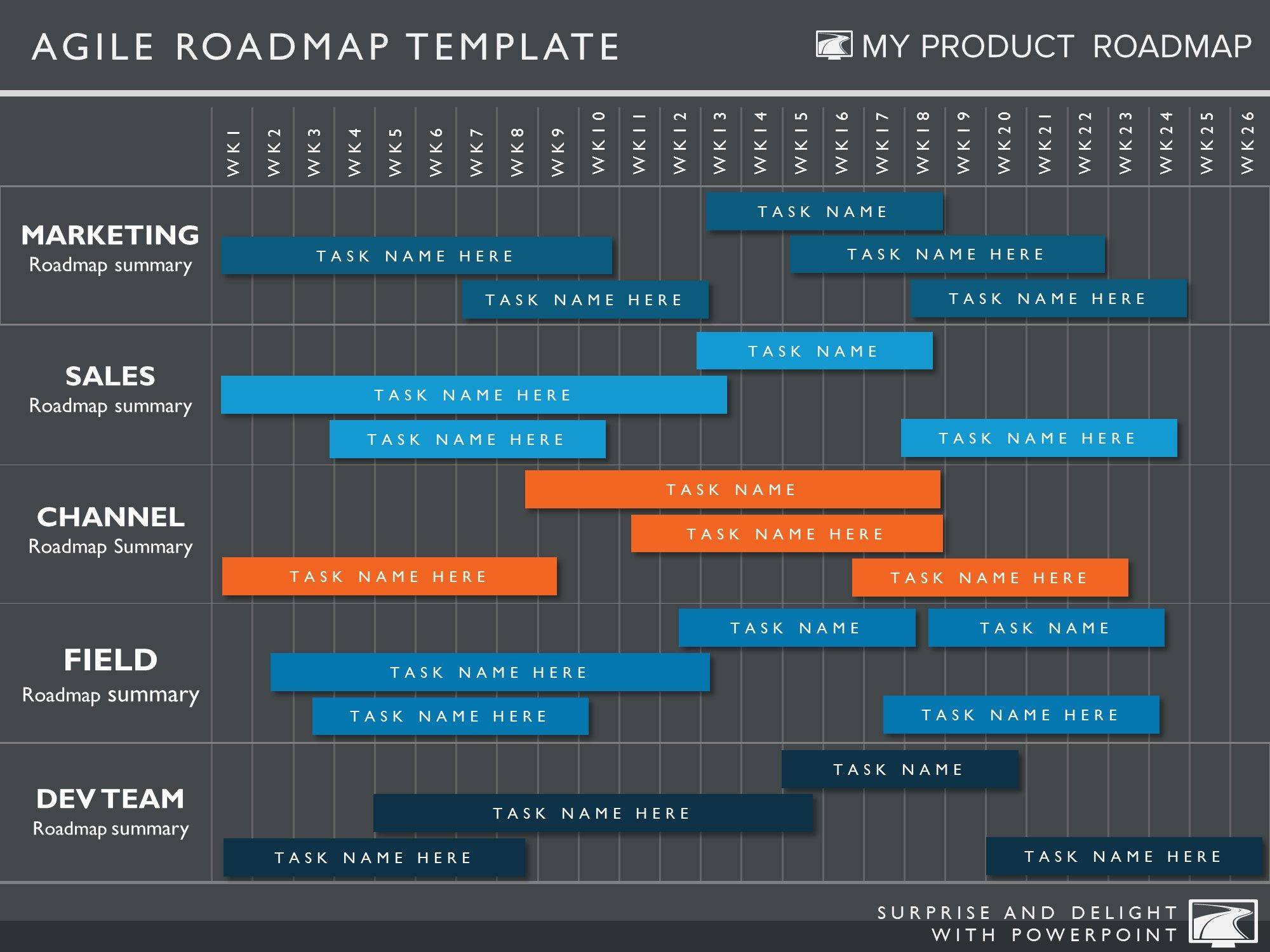 Product Roadmap Presentation Template