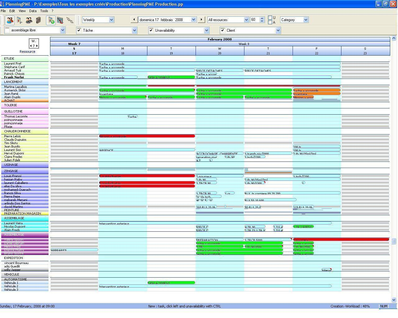 Production Plan Example Excel