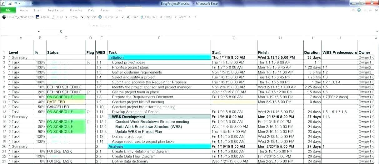 Production Schedule Template Excel Free Download