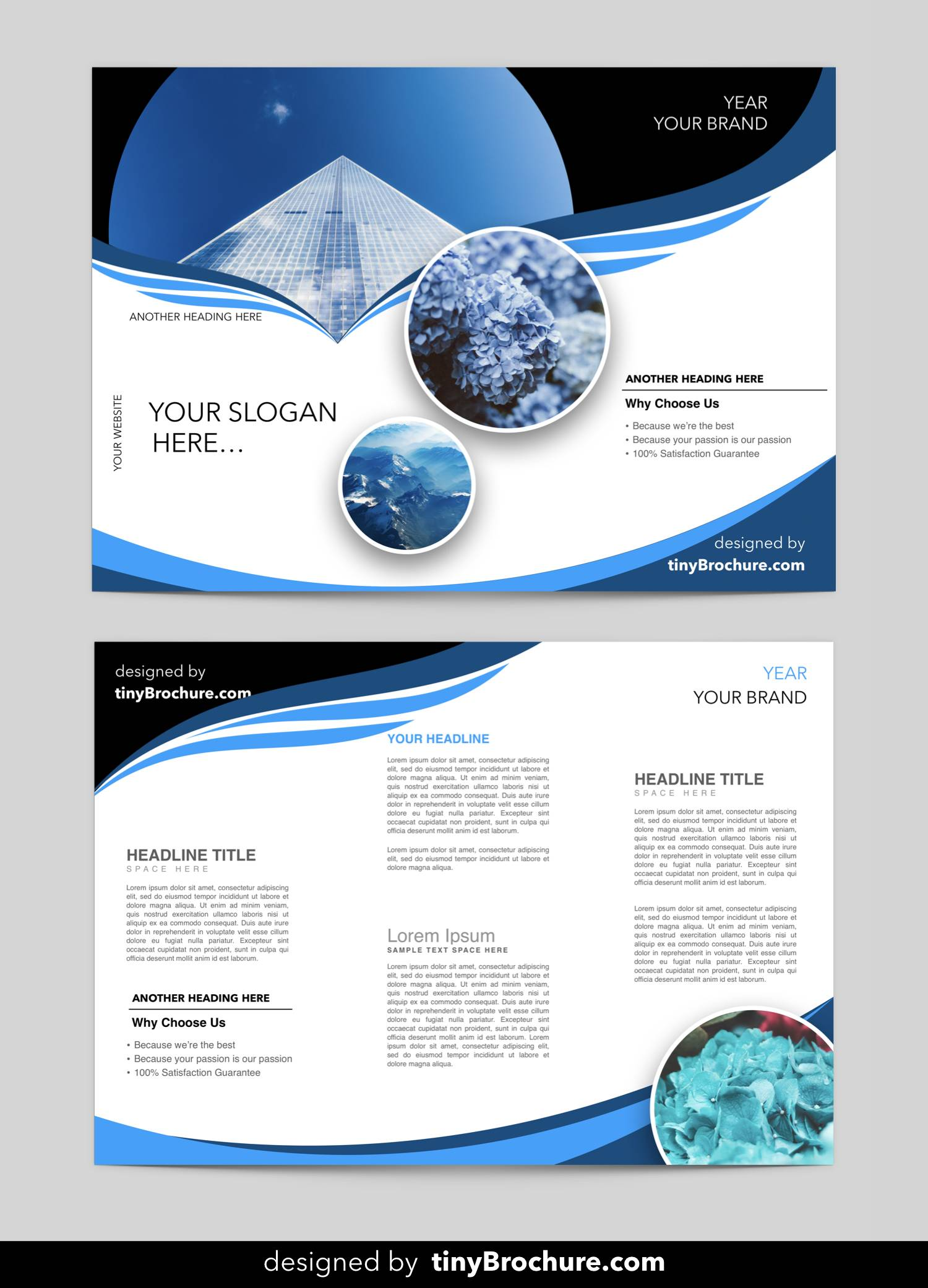 Professional Brochure Design Templates Free Download
