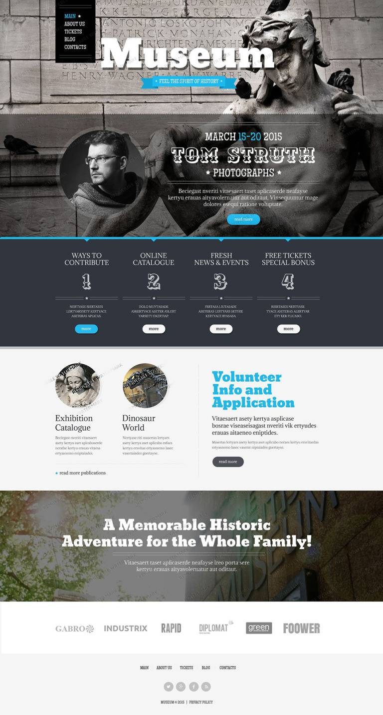 Professional Photography Website Templates Free Download