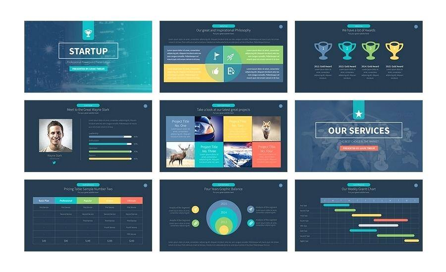 Professional Powerpoint Presentation Templates Free Download 2015